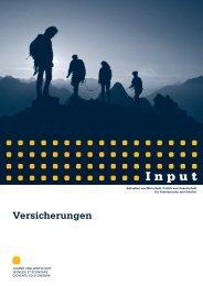 Input Versicherungen - Jugend und Wirtschaft