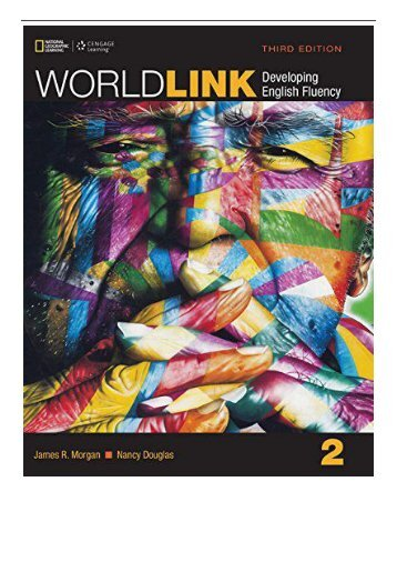 PDF Download World Link 2 Student Book with My World Link Online World Link Third Edition Developing