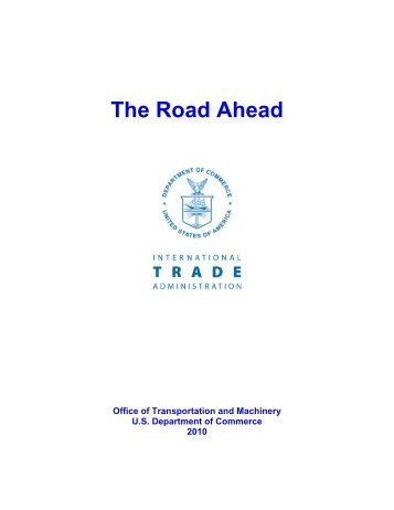 The Road Ahead - International Trade Administration