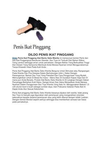 DILDO PENIS IKAT PINGGANG