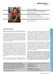 PAVEL TCHELITCHEW - Arnoldsche