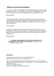 PDF - weitere Informationen - Galerie Berinson