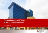 Frasers Commercial Trust 2QFY12 Financial Results