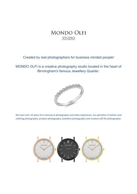 Product Photography UK