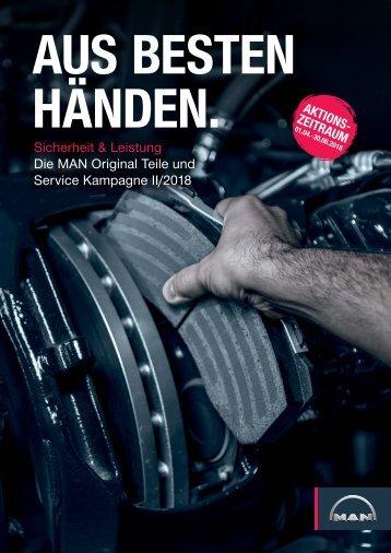 MAN Original Teile & Service Kampagne Ausgabe 2/2018