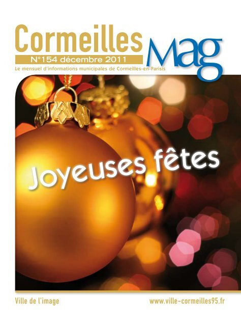 N° 154 - Décembre 2011 (pdf - 3,65 Mo - Cormeilles-en-Parisis