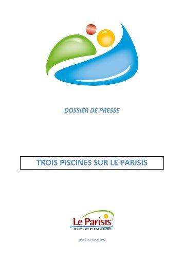 TROIS PISCINES SUR LE PARISIS - Communauté d'agglomération ...