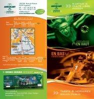 Tarifs & horaires - Aerokart