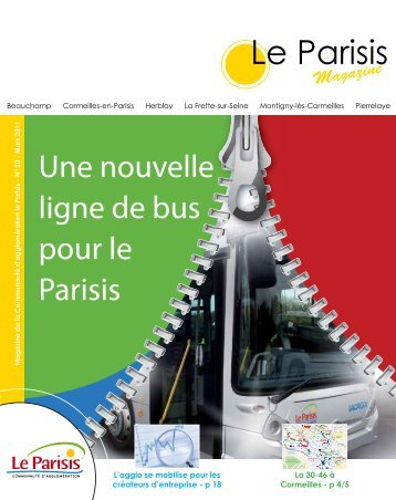 Magazine de la Communauté d'agglomération le Parisis