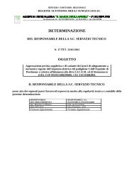 DETERMINAZIONE - Azienda Ospedaliera Santa Maria degli Angeli ...