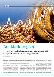 Börse - Deutsche Saatveredelung AG