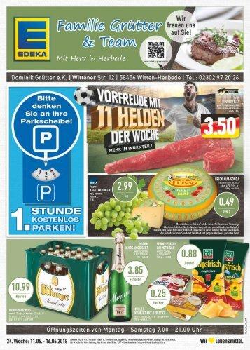 Edeka Grütter Angebote Vom 1607 Bis Zum 21072018