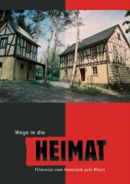 HEIMAT-Broschüre (PDF) - Hunsrück Touristik GmbH