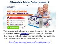 Climadex Male Enhancement