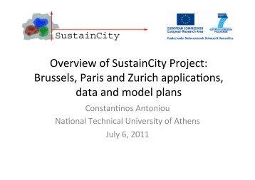 household location choice model - UrbanSim
