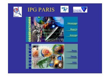 IPG PARIS - the SPICE Home page!