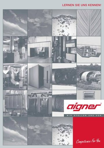 LERNEN SIE UNS KENNEN! - Aigner GmbH
