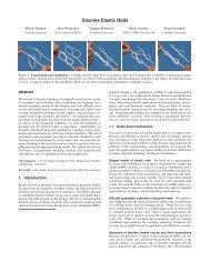 Discrete Elastic Rods - Department of Computer Science, Columbia ...