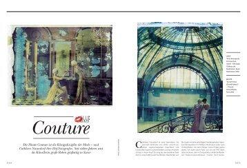 Serie haute couture for Haute kuki und die markise