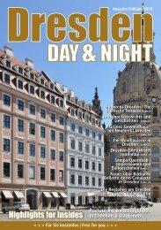 Dresden Day&Night | Frühjahr 2018 | 4. Jahrgang