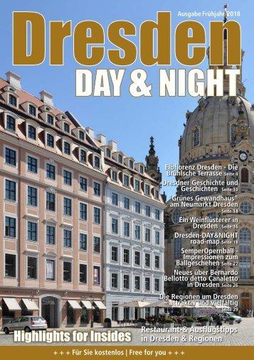 Dresden Day&Night   Frühjahr 2018   4. Jahrgang