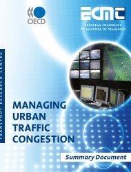 managing urban traffic congestion - International Transport Forum