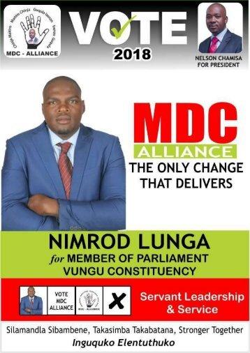 Nimrod Lunga Manifesto 2018