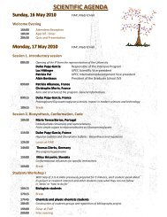 final program - Université Paris-Est