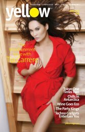 The Entertainment Issue with - Yellow Magazine