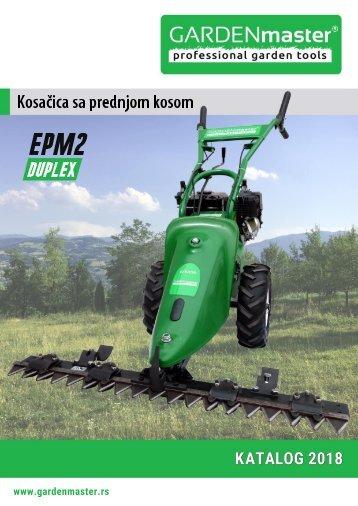 Katalog 2018 kosacica sa ceonom kosom EPM2