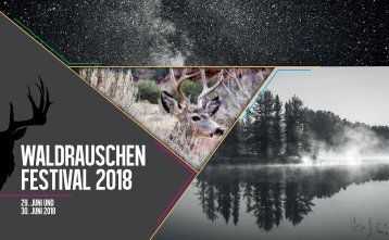 Waldrauschen-Festivalguide 2018