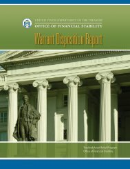 office of financial stability - House Committee on Financial Services