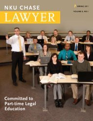 NKU chase - Salmon P. Chase College of Law - Northern Kentucky ...