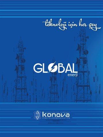 GLOBAL elektrik Tanıtım Kataloğu
