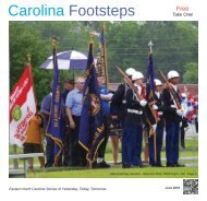 Carolina Footsteps June 2018 Web Opt