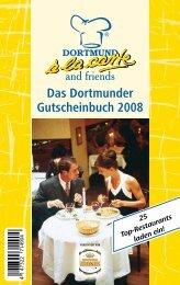 Das Dortmunder Gutscheinbuch 2008 - Westfalen Gastro