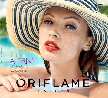 Oriflame katalóg 2018/9