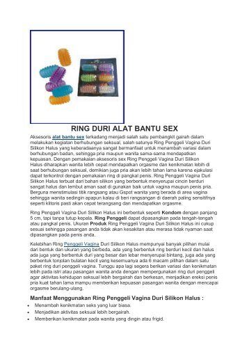 RING DURI ALAT BANTU SEX