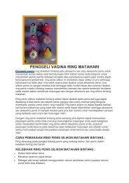 PENGGELI VAGINA RING MATAHARI