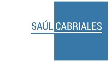 Saúl Cabriales - Portafolio 2018
