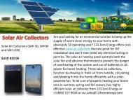 Best Solar Air Collectors