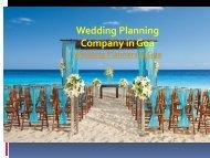 Wedding Planning Company in Goa