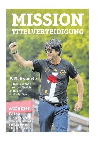 Fußball WM 2018: Mission Titelverteidigung
