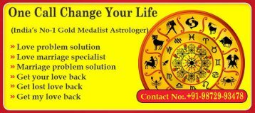 Love Vashikaran Specialist | Get Fast Results on Call Now - +91-9872993478