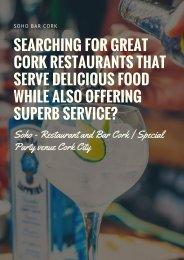 SoHo Bars, Pubs & Restaurants in ireland