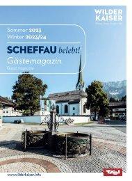 Gästemagazin Scheffau