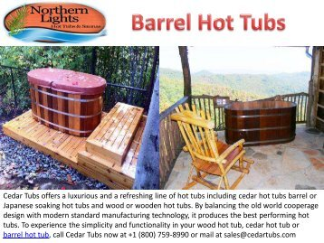 Best Barrel Hot Tubs