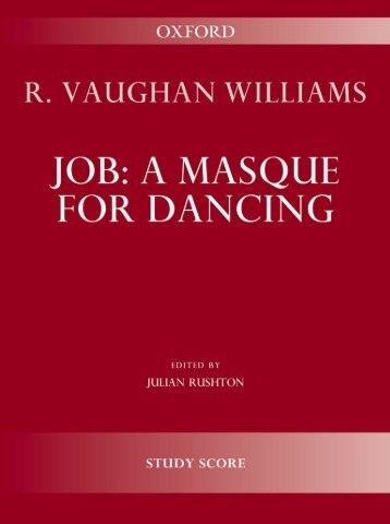 R. Vaughan Williams - Job: A Masque for Dancing