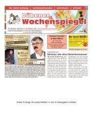 Dübener Wochenspiegel - Ausgabe 21 - 28-10_2015