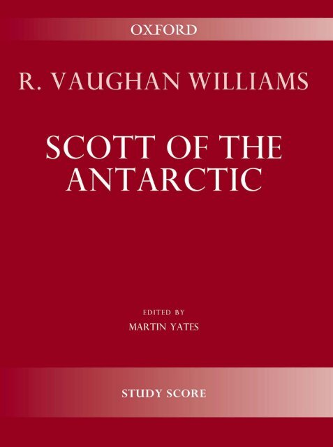 R. Vaughan Williams - Scott of the Antarctic